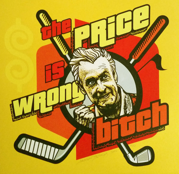 "Jeremy Berkley ""The Price Is Wrong"" Print"
