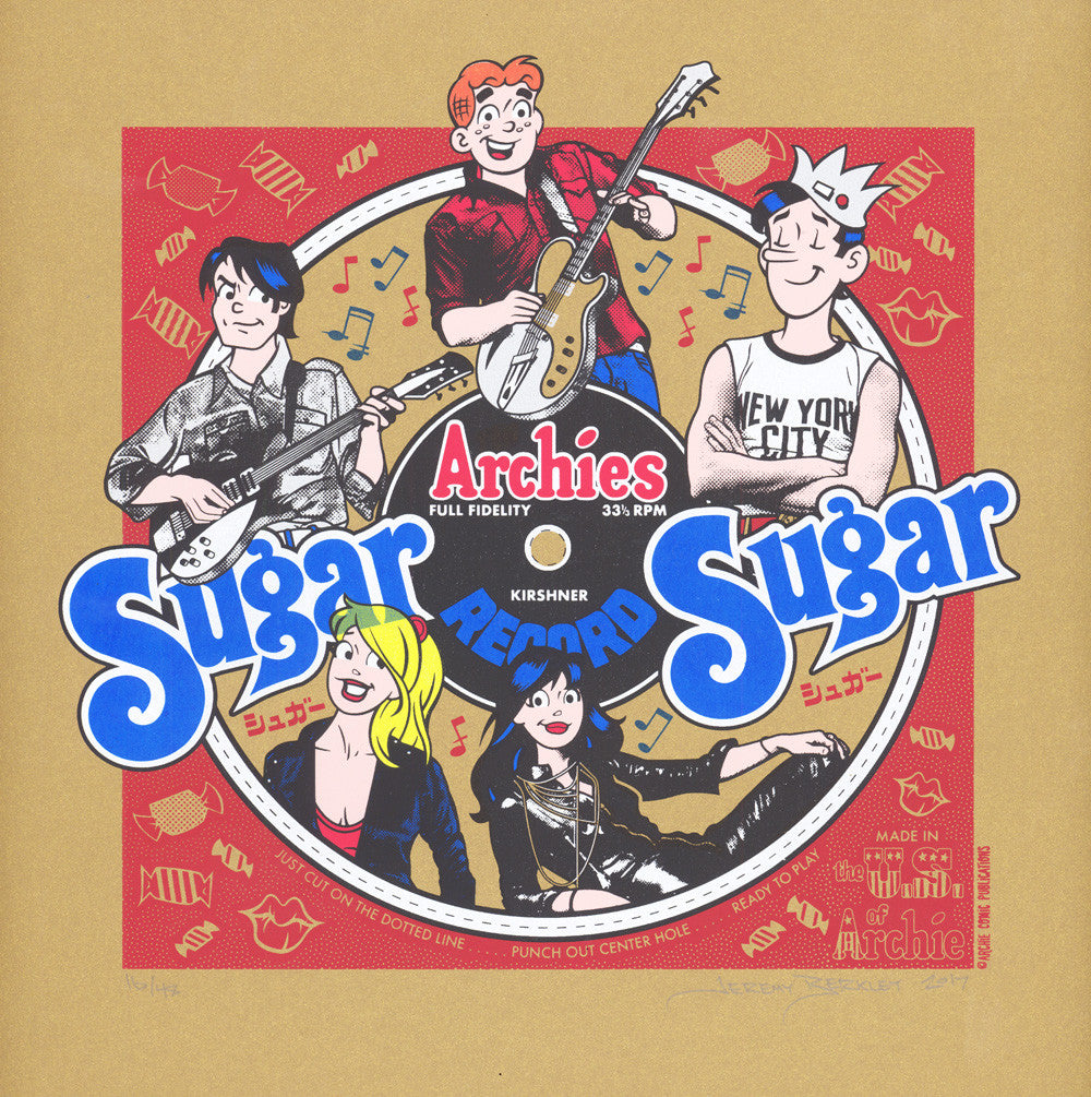 "Jeremy Berkley ""Sugar, Sugar"" Print"