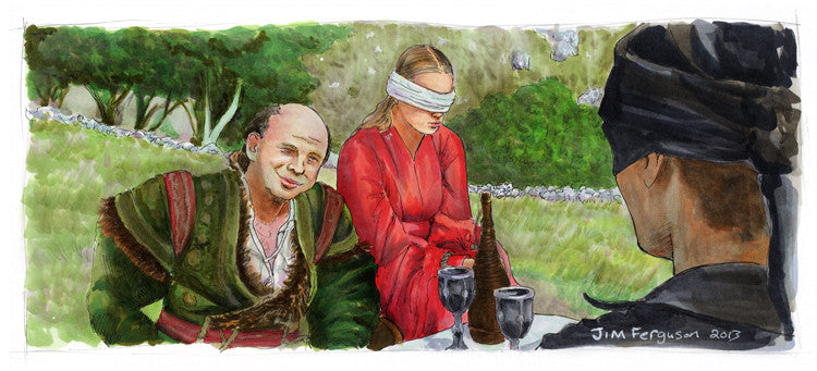 "Jim Ferguson ""The Princess Bride - Land War in Asia"" Print"