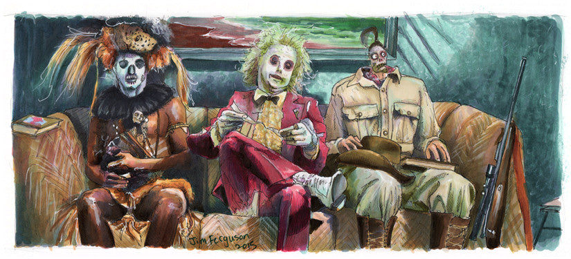 "Jim Ferguson ""Beetlejuice - Well looks like I'm Next"" Print"