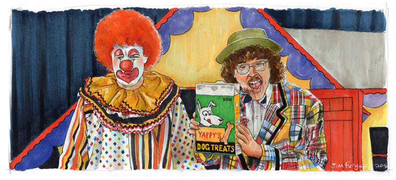 "Jim Ferguson ""UHF - With just a hint of cheese!"" Print"