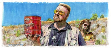 "Jim Ferguson ""The Big Lebowski - Goodnight Sweet Prince"" Print"