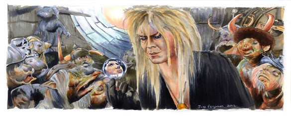 "Jim Ferguson ""Labyrinth - The Goblin King"" Print"