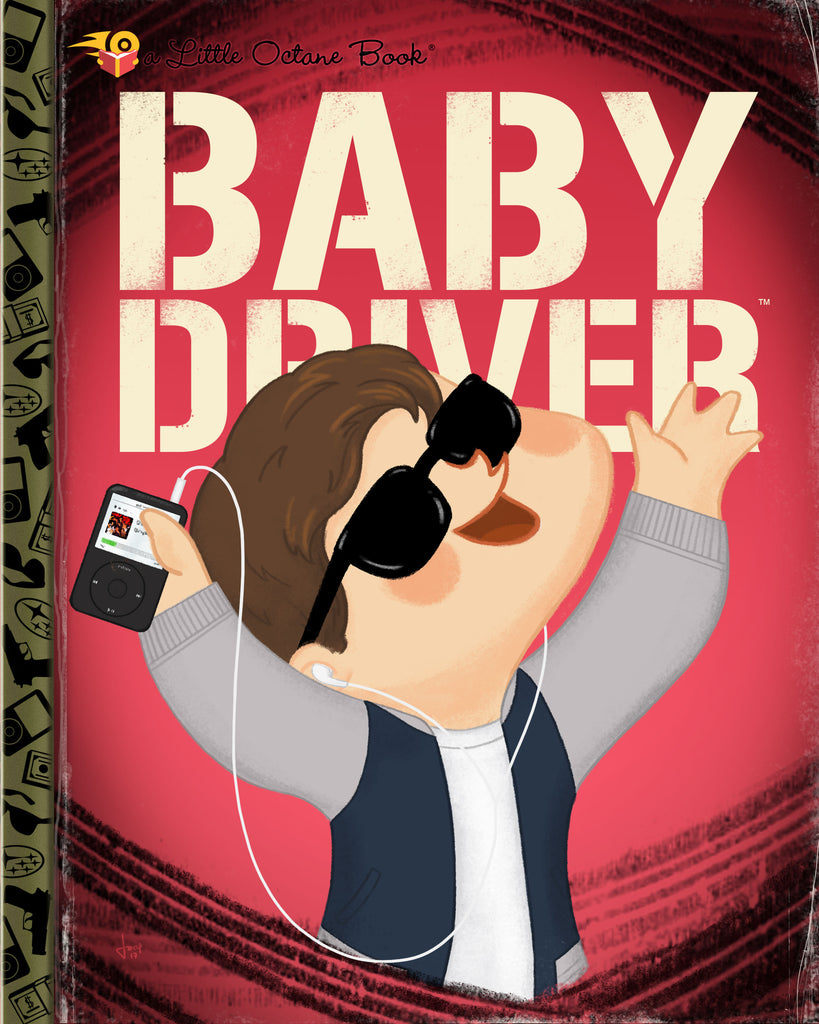 "Joey Spiotto ""Baby Driver"" Print"