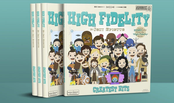 "Joey Spiotto ""High Fidelity: Greatest Hits"" Book"