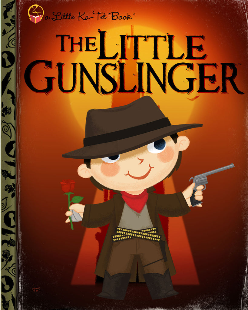 "Joey Spiotto ""The Little Gunslinger"" Print"