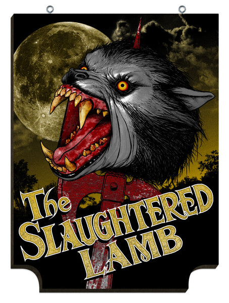 "Jon Smith ""Slaughtered Lamb"" Print"