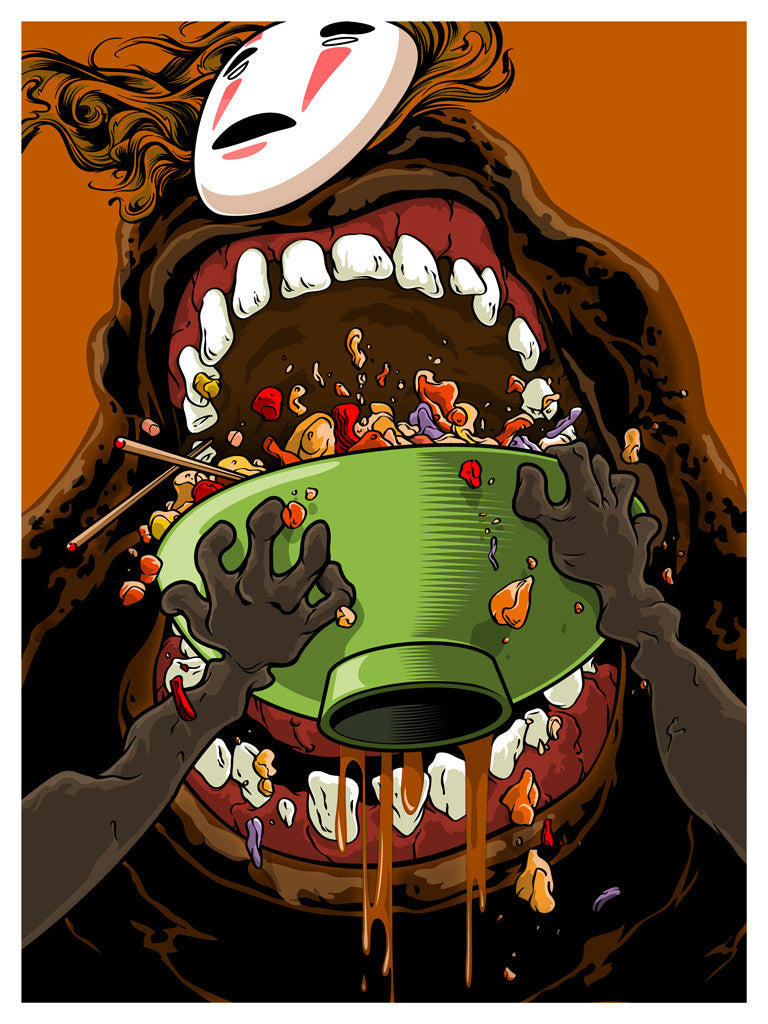 "Joshua Budich ""Hey, boss! It's me! I'm hungry! Why don't you wake everyone up?"" Print"