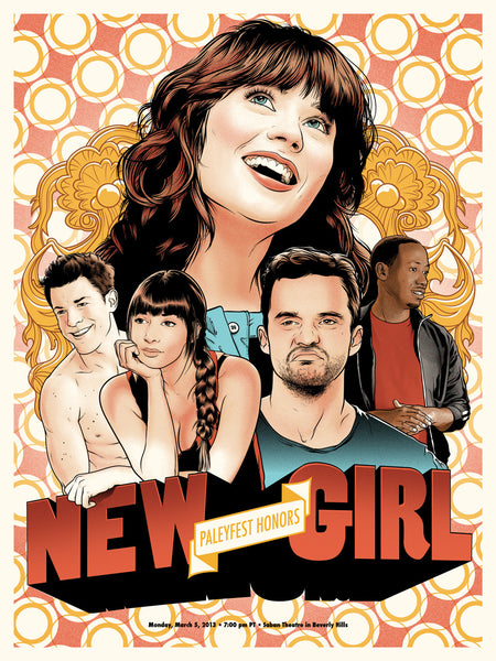 "Joshua Budich ""PaleyFest 2013 Honors New Girl"" Print"
