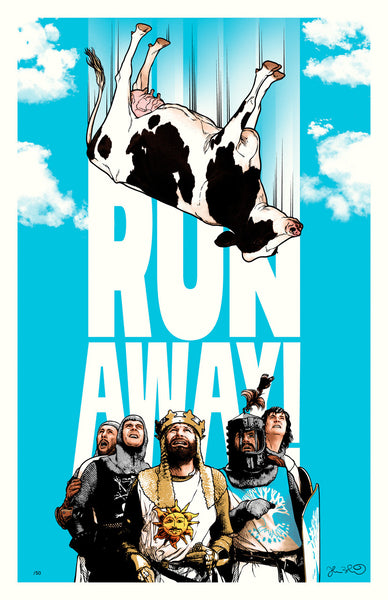 "Joshua Budich ""RUN AWAY"" Print"