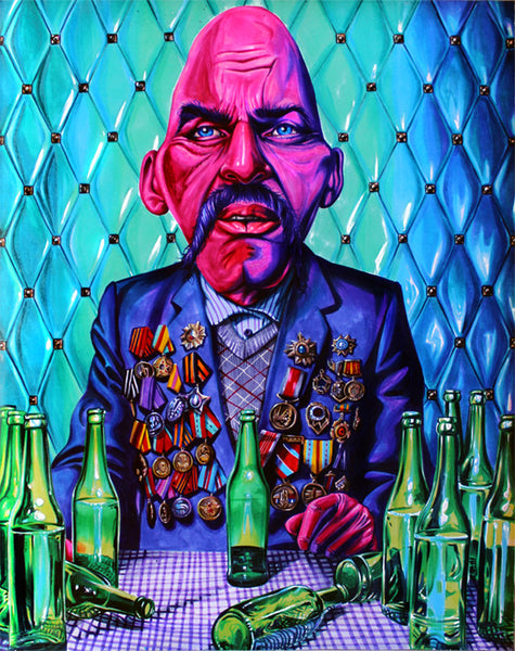 "Joshua Roman ""Soda Popinski, The retirement years"" Print"