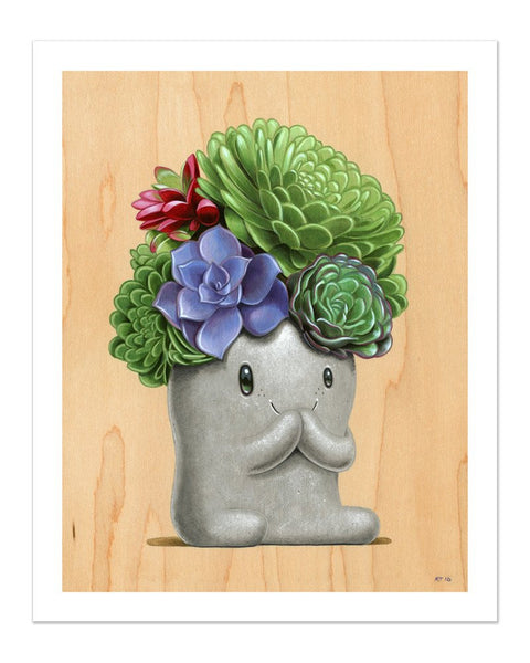 "Cuddly Rigor Mortis ""Bloom"" Print"