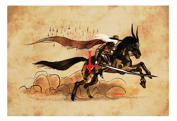 "Keith Noordzy ""Vampire Hunter D"" Print"
