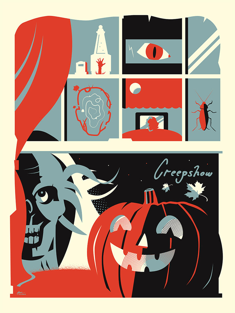 "Kevin Tiernan ""Creepin' Around"" Print"