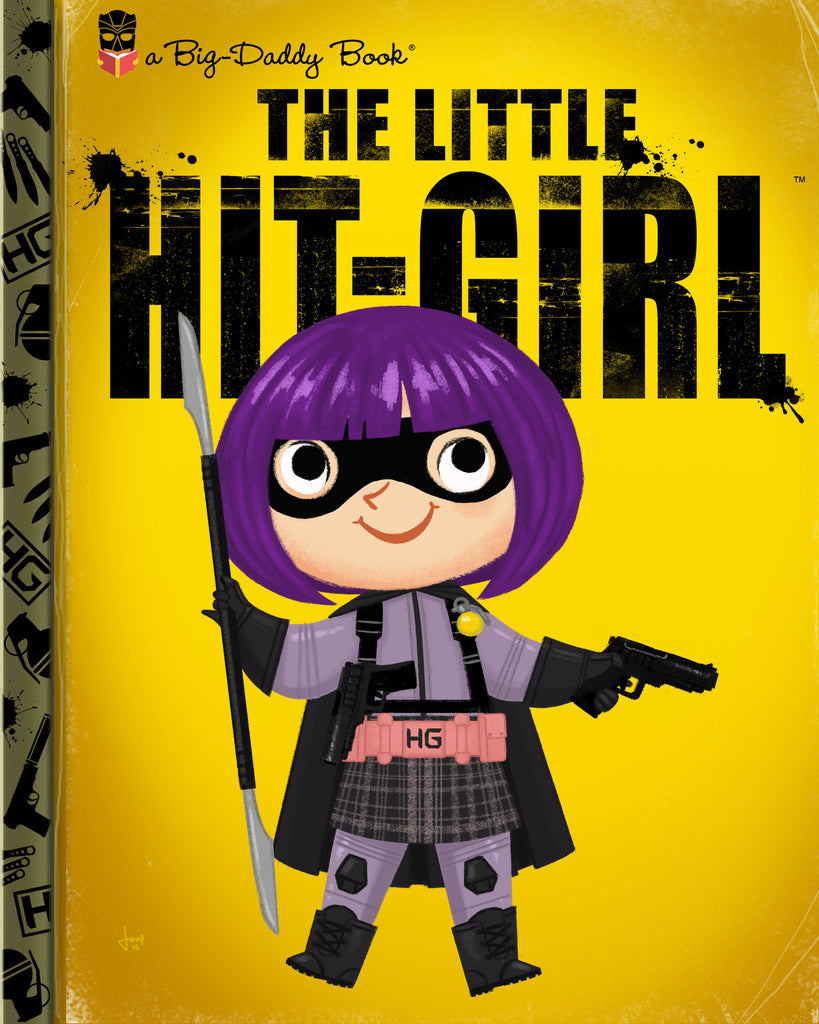 "Joey Spiotto ""The Little Hit-Girl"" Print"