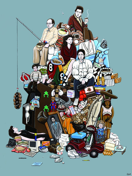 "Kiersten Essenpreis ""Hall of Fame: Seinfeldology"" Print"