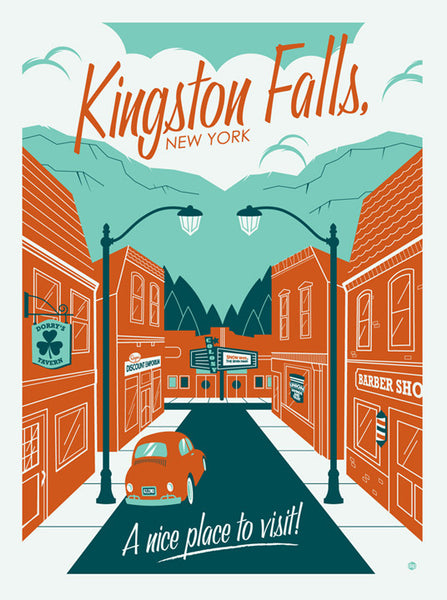 "Dave Perillo ""Kingston Falls"" Print"