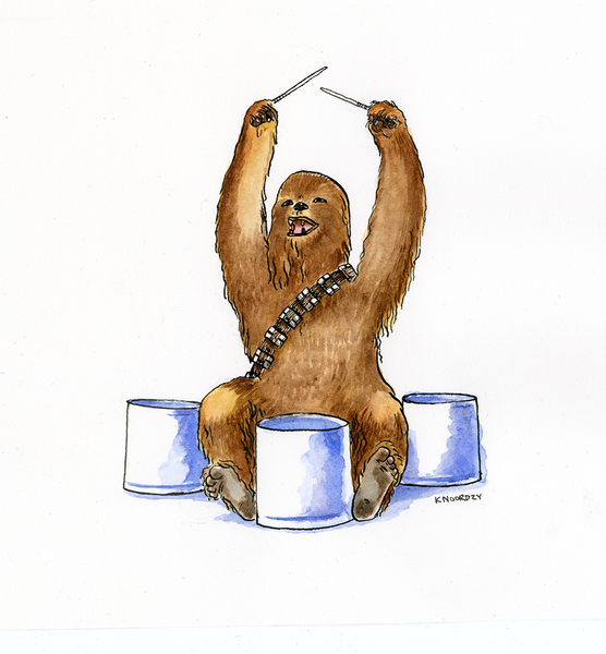 "Keith Noordzy ""Hollywood (Chewbacca)"""