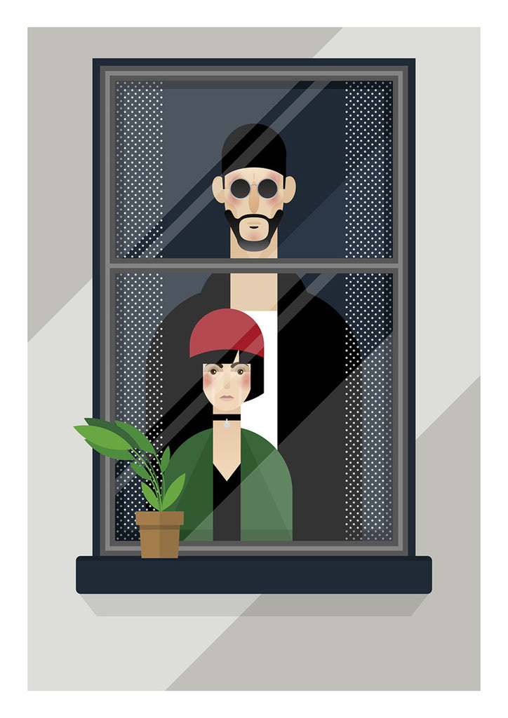 "Known as Unknown ""Leon & Mathilda"" Print"