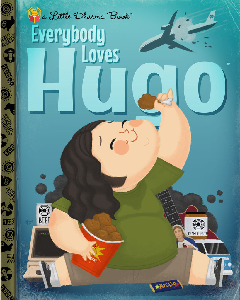 "Joey Spiotto ""Everybody Loves Hugo"" Print"
