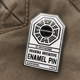 "Clay Graham Art ""Lost in Time (Dharma)"" Pin"