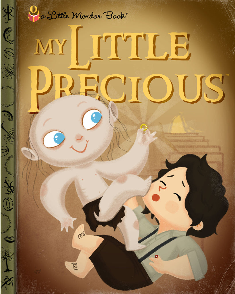 "Joey Spiotto ""My Little Precious"" Print"