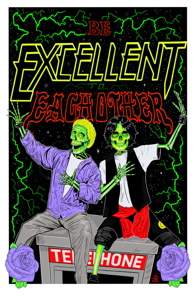 "LPIII ""Grateful Bill & Ted"" Print"