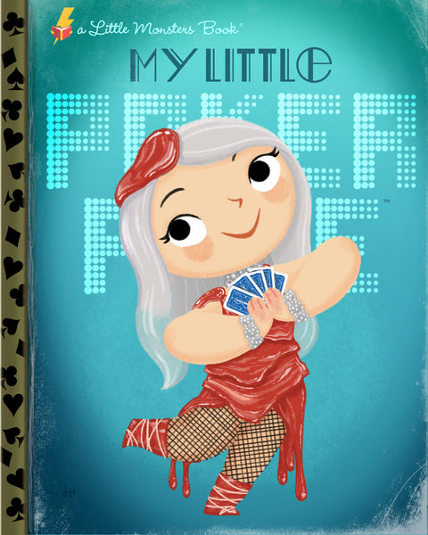 "Joey Spiotto ""My Little Poker Face"" Print"