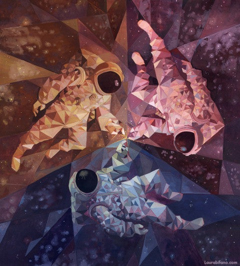 "Laura Bifano ""Encounters at the Edge of the Multiverse"" Print"