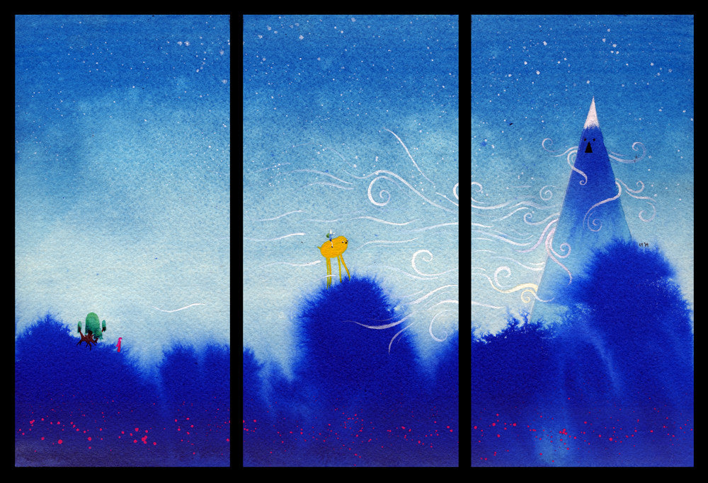 "Lawrence Yang ""Adventure Triptych"""