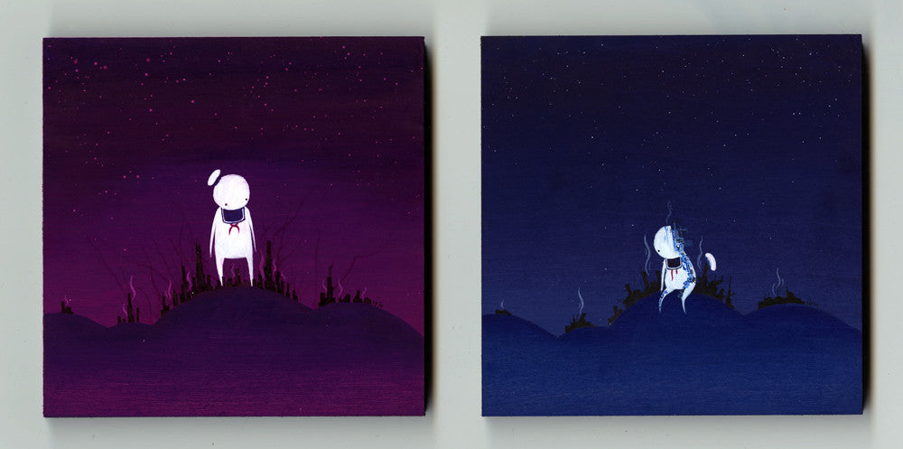 "Lawrence Yang ""Stay Puft Apocalypse"" Diptych"