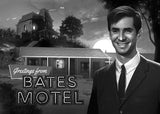 "Laz Marquez ""Greetings from Bates Motel"" Postcard Print"