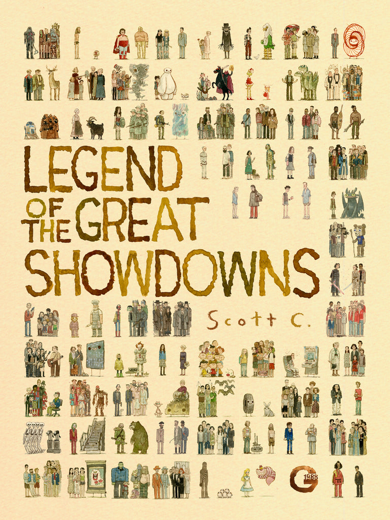 ".Scott C. ""Legend of the Great Showdowns"" Poster"