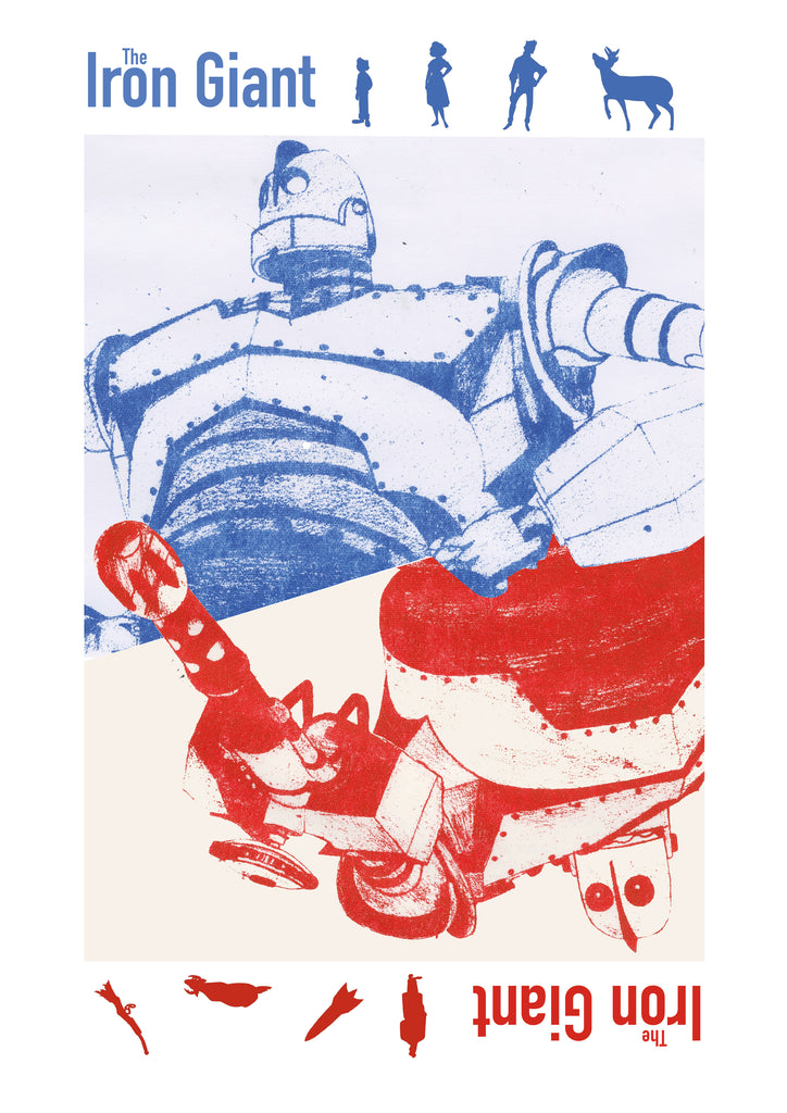 "Libbie Russell ""Iron Giant"" Print"