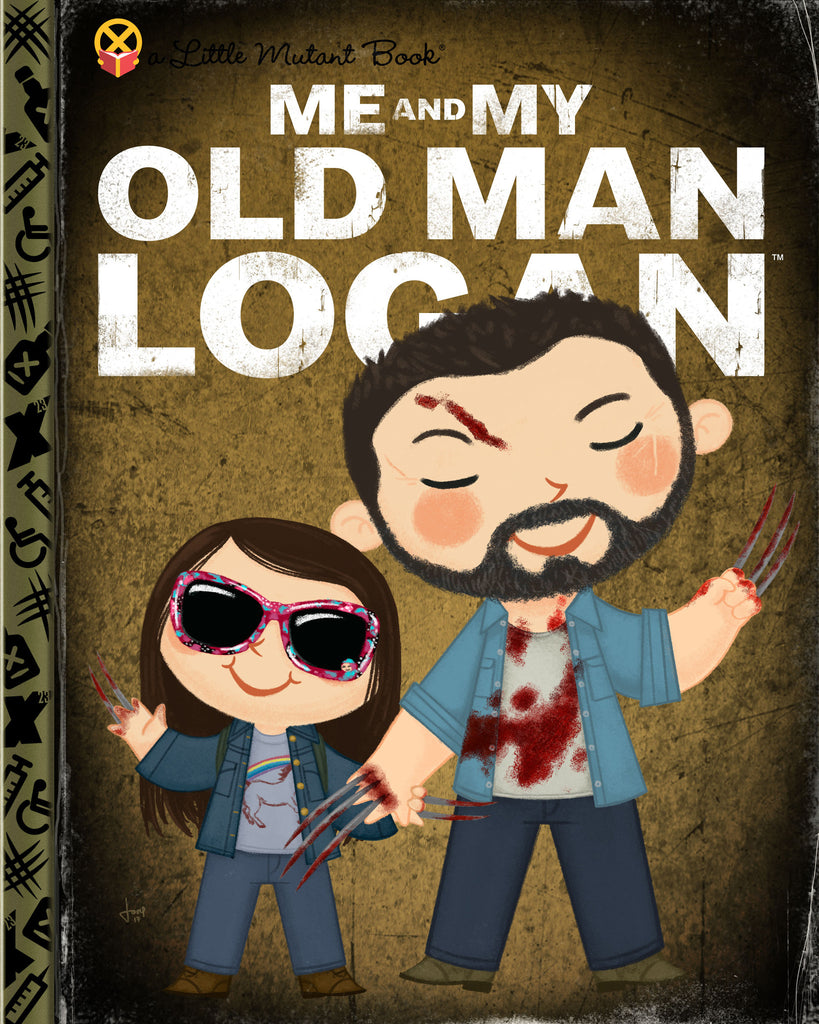 "Joey Spiotto ""Me and My Old Man Logan"" Print"