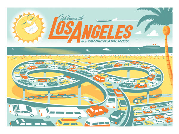 "Eric Tan ""Los Angeles"" Print"