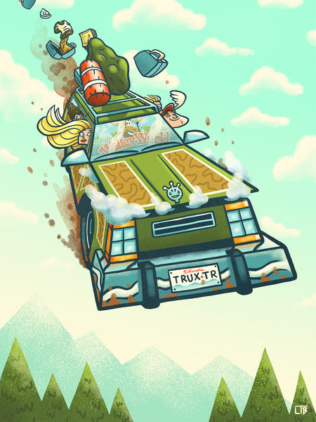 "Luke T. Benson ""A Griswold Family Vacation"" Print"