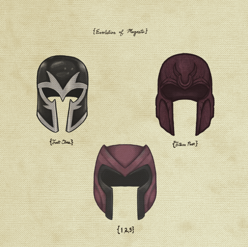"Joe Van Wetering ""Evolution of Magneto"" Print"