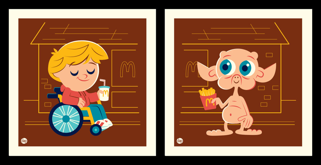 "Dave Perillo ""We'll be friends forever"" Print Set"