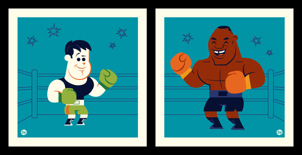 "Dave Perillo ""Mac Vs Mike"" Print Set"