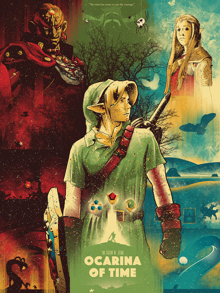"Marinko Milosevski ""The Legend of Zelda: Ocarina of Time"" Print"