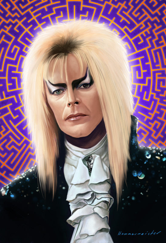 "Mark Hammermeister ""The Goblin King"" Print"