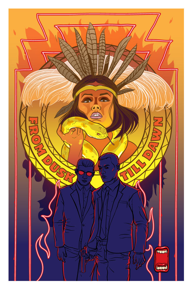 "Mark Sarmel ""From Dusk Till Dawn"" Print"