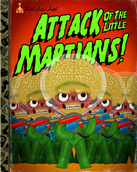 "Joey Spiotto ""Attack of the Little Martians"" Print"
