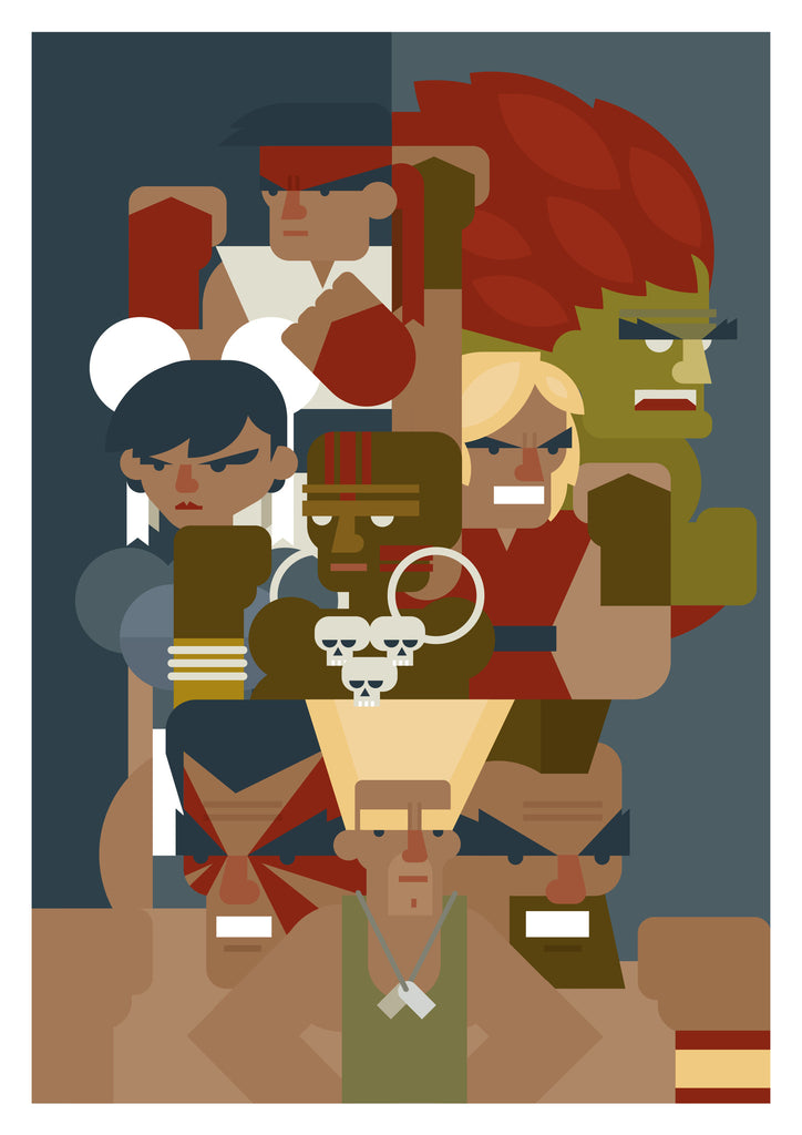 "Known As Unknown ""Hadouken"" Print"