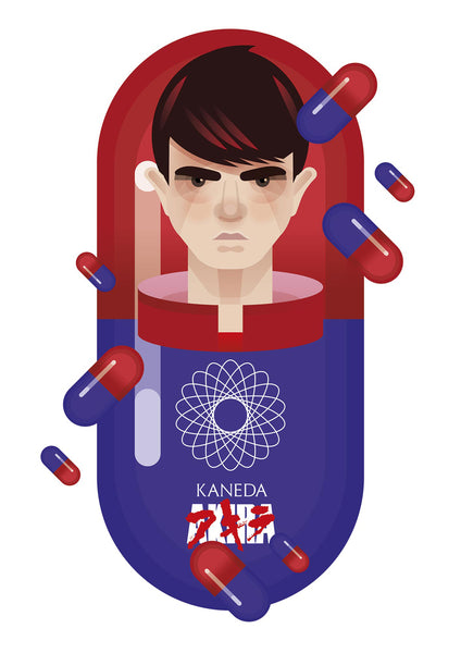 "Martin Donnelly 'Known As Unknown' ""Kaneda"" Print"