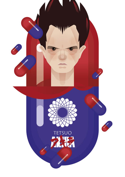 "Martin Donnelly 'Known As Unknown' ""Tetsuo"" Print"