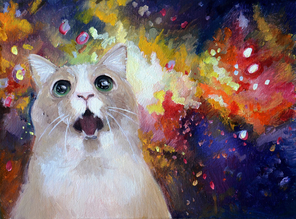 "Martina D'Anastasio (Sine Senze) ""Space Tripping Cat"""