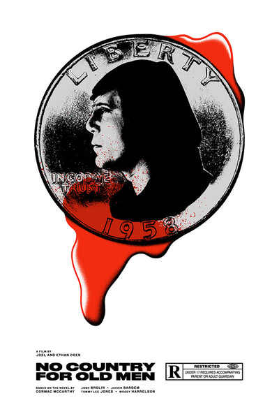 "Matt Chase ""No Country For Old Men"" Print"
