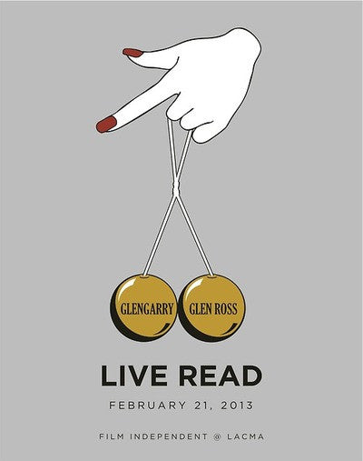 "Matt Owen ""Glengarry Glen Ross Live Read"" Print"